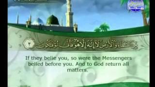 الجزء 22 الربع 6 :  الشيخ علي بن عبد الرحمن الحذيفي