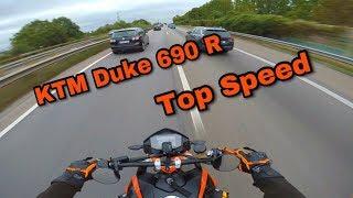 1. Top Speed | KTM Duke 690 R | Full Akrapovic