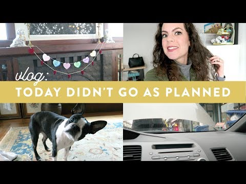 UNEXPECTED Haircut, Car Trouble and Workday  Vlog 2.13.19  Day in the Life of a Business Owner