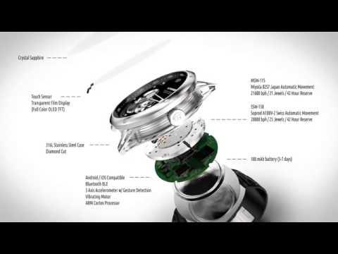 Akıllı saat ile klasik mekanik saat birleşti