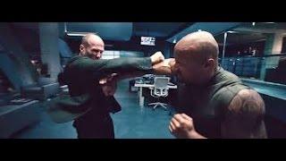 Rápido & Furioso 7 - Hobbs vs Shaw Pelea Completa Español Latino