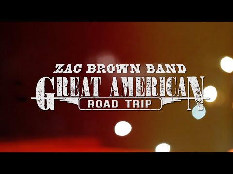 Zac Brown Band - Great American Road Trip Heads North
