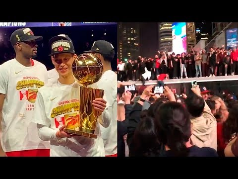 Jeremy Lin The NBA Champion | NBA Finals Game 6 | Jurassic Park in Toronto