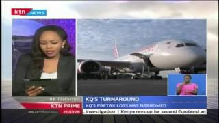 KTN Prime: Chief executive officer Mbuvi Ngunze said that the carrier KQ is turning around