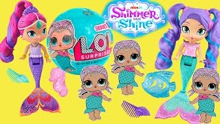 #Русалки Мультик Mermaid Shimmer and Shine #Куклы Лол Сюрпризы Color Changing Меняют Цвет