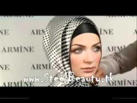 لفة الحجاب التركي للمانسبات