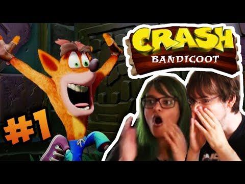 NYT CRASH SPIL! | Crash Bandicoot (PS4)