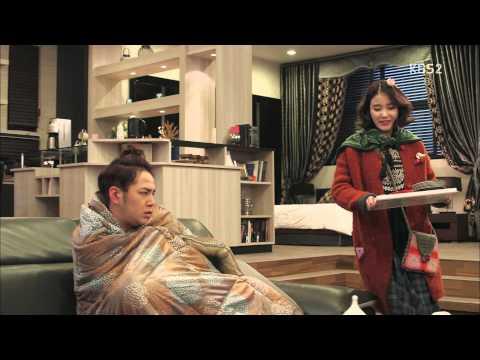 [예쁜남자] 아픈 장근석, 죽 먹여주는 아이유 20131128