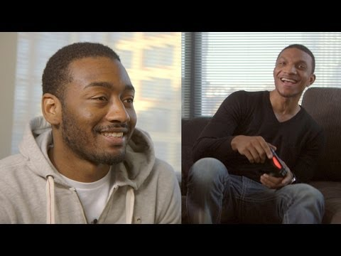 john - I partnered with PlayStation during the PlayStation® 4 launch to upgrade John Wall with a next generation gaming experience. Check out his new setup and watc...