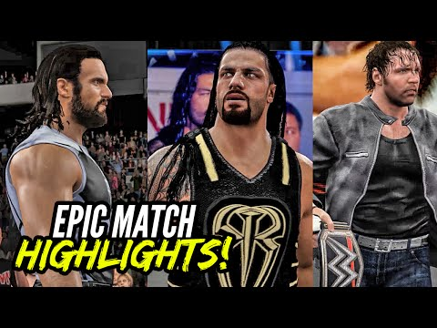Reigns vs. Rollins vs. Ambrose | EMH Series!