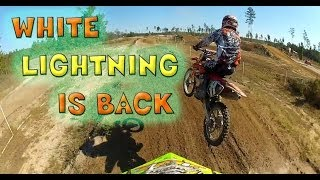9. WHITE LIGHTNING LIVES - 2007 CRF450R