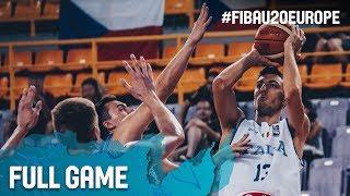 Watch Italy v Czech Republic at the FIBA U20 European Championship 2017. ▻▻ Subscribe: http://fiba.com/subYT Click here for...
