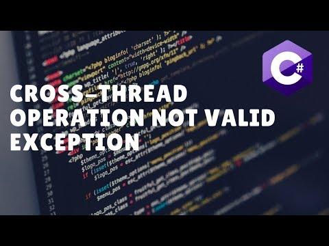 C# Cross Thread UI Updation : Handling Cross-thread operation not valid exception