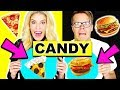 Making Food out of CANDY! Learn how to make DIY Edible Candy vs Real Food