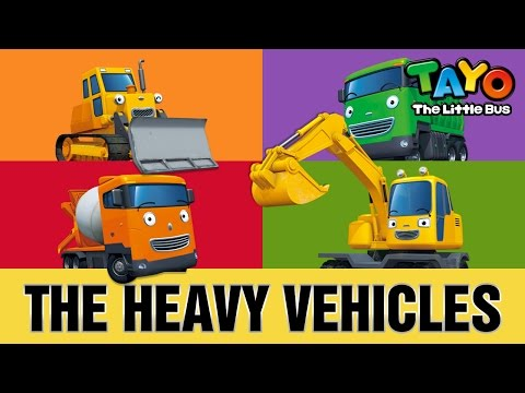The Strong Heavy Vehicles l Meet Tayo's Friends #3 l Tayo the Little Bus