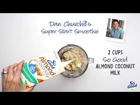 Dan Churchill's super start smoothie thumbnail 1