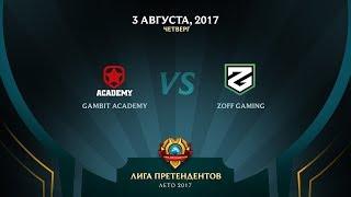 GMB vs ZG - Неделя 6 День 1 Игра 4 / LCL