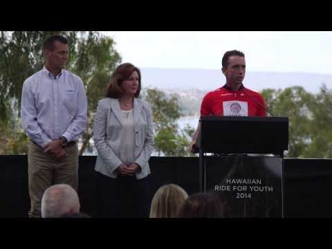 Hawaiian Ride for Youth 2014 Welcome Home Ceremony on YouTube
