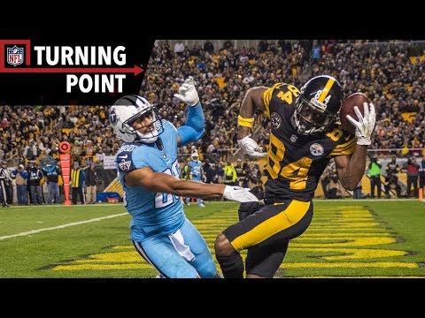 Video: Antonio Brown's Helmet Catch Caps off his 3 TD Game! (Week 11) | NFL Turning Point