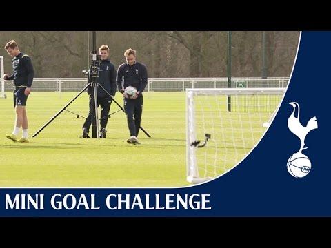 Video: Mini Goal Challenge - Superbowl Special ft. Kane, Eriksen & Vertonghen