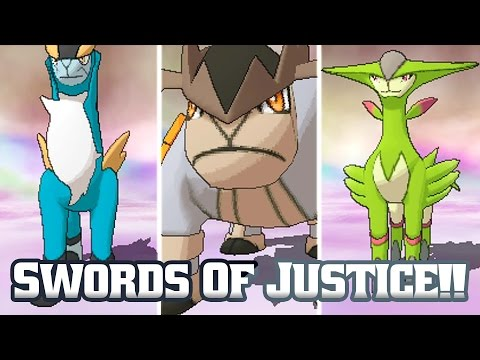 Pokémon Omega Ruby Swords Of Justice!! (Bonus Ep 13)