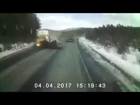 Жуткая авария на трассе М5