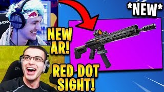 Streamers React to *NEW* Tactical Assault Rifle! | Fortnite Highlights & Funny Moments
