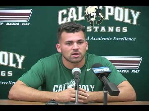 Cal Poly Football Junior Slot Back Kori Garcia
