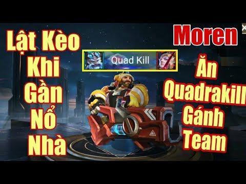 [Gcaothu] Trận đấu bị phá gần nổ nhà - Moren ăn Quadrakill gánh team lật kèo ngoạn mục - Thời lượng: 13:17.