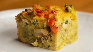 Leftover Thanksgiving Breakfast Casserole by Tasty