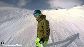Flims Switzerland  city pictures gallery : (4k) LAAX Ski Resort , Flims Laax Falera, Switzerland