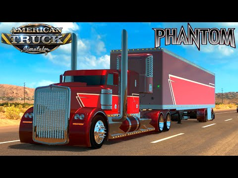 Truck Kenworth Hotw9 Phantom + PPC + New engines for ETS2 1.24.x