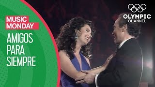 """Sarah Brightman and Josep Carreras sing the song """"Amigos para Siempre"""" especially composed by Andrew Lloyd Webber for the Barcelona 1992 Olympic Games.Subscribe to the Olympic Channel here: http://bit.ly/1dn6AV5"""