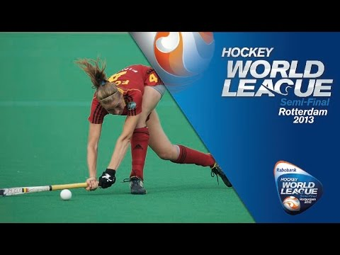 Belgium - Korea saw off Belgium 2-1 in a cracking Quarter Final in the Women's Hockey World League. Belgium got off to flyer, a goal inside the first minute. Judith Va...