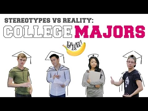 Stereotypes vs Reality: College Majors - YouTube