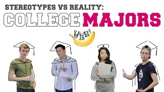 Video Stereotypes vs Reality: College Majors MP3, 3GP, MP4, WEBM, AVI, FLV Juni 2019