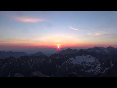Nočný výstup na Kriváň - 2494 m.