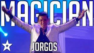 Video Illusionist Jorgos | All Performance |  Got Talent Greece | Magician's Got Talent MP3, 3GP, MP4, WEBM, AVI, FLV Desember 2018