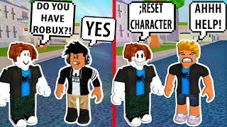 HE LIED ABOUT HAVING ROBUX! ROBLOX EXPOSING FAKES! Roblox Social Experiment | Roblox Funny Moments