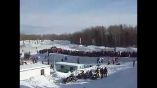 Noranda (QC) Canada  city pictures gallery : Grand Prix 2013 de l'International Snowcross. Rouyn-Noranda, Québec, Canada. -30 Celsius!