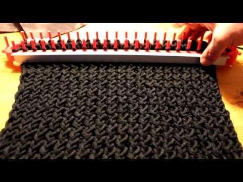 Strickrahmen stabilisieren Teil 10/10: Strickergebnis