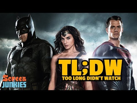 TL;DW - Every DCEU Movie Before Justice League
