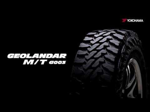 YOKOHAMA Geolandar G003 M/T - 30 Seconds