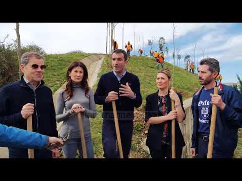 U mbollën 100 mijë pemë, Veliaj: Aksioni vijon edhe më tej - Top Channel Albania - News - Lajme (видео)