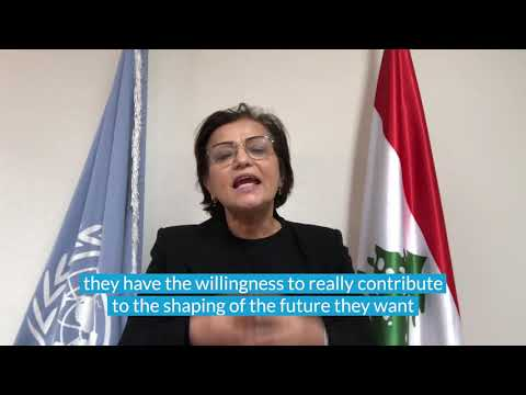 Why is Young Women's participation in peacebuilding essential -- UN RC/HC Najat Rochdi answers the question