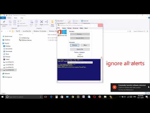 Activate windows 10 pro for free 2017 using KMS Auto net