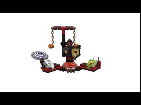 Конструктор Предводитель монстров – Абсолютная сила - LEGO NEXO KNIGHTS - фото № 6