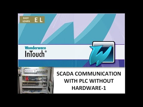 SCADA COMMUNICATION WITH PLC WITHOUT HARDWARE - 1