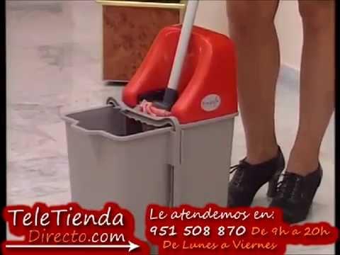 Cubo escurridor fregona videos videos relacionados con - Cubo fregona escurridor automatico ...