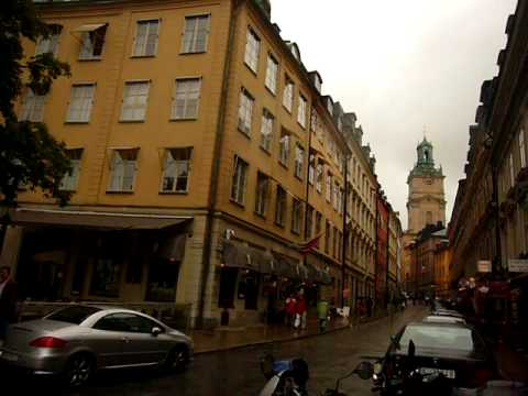 Stockholm Travel Series: Gamla Stan City Street Tour